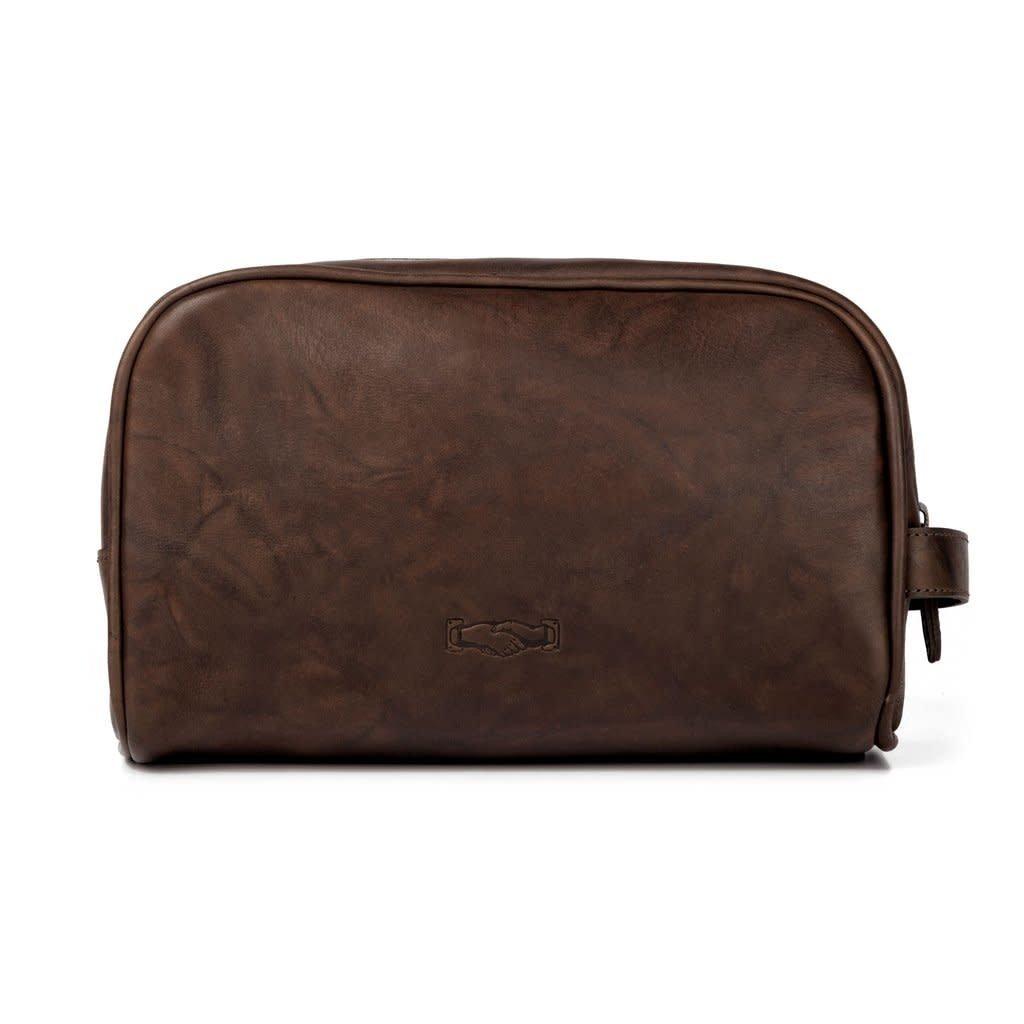 Mission Mercantile Mission Mercantile Benjamin Leather Wash Bag
