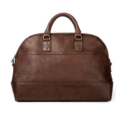 Mission Mercantile MM Heritage Leather Stateroom Weekender (Smoke)