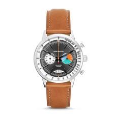 Jack Mason Jack Mason Racing Chronograph 40mm (Grey Dial w/ Tan Leather)