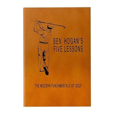 Graphic Image Ben Hogan's Five Lessons (Cognac)