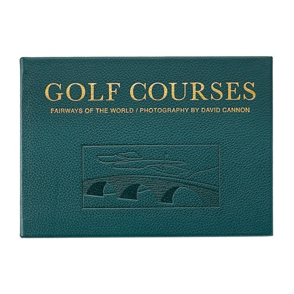 Graphic Image Golf Courses: Fairways of the World Traditional Leather