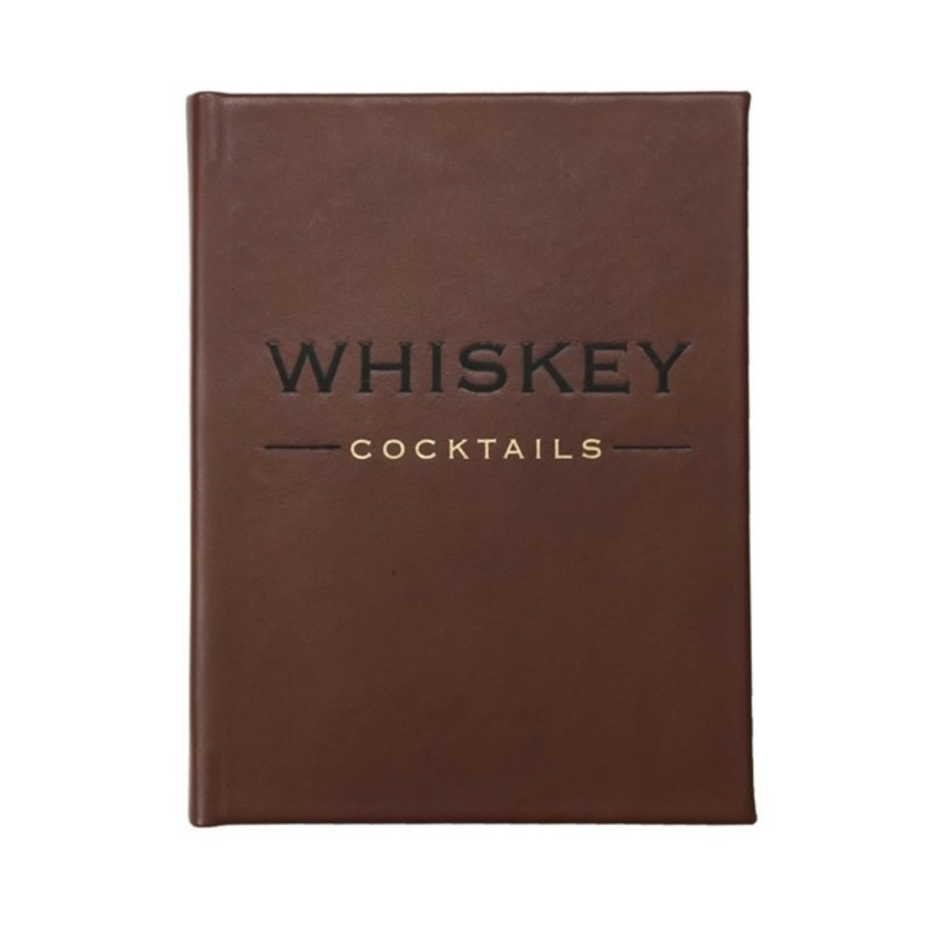 Graphic Image Whiskey Cocktails (Brown)