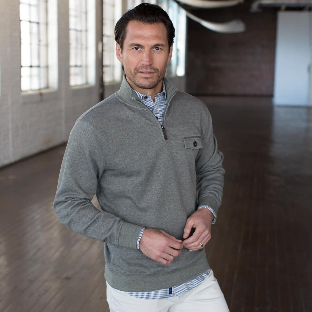 Oxford Clothing Co. Oxford Co. Oakdale 1/4 Zip Pullover