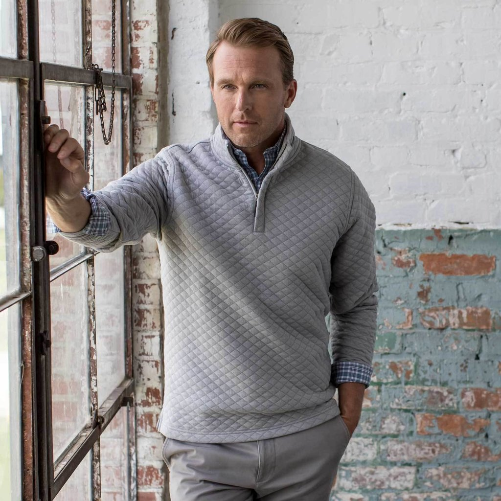 Oxford Clothing Co. Oxford Co. Linden 1/4 Zip Pullover