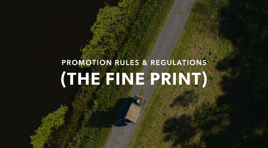 Promo Rules & Regs