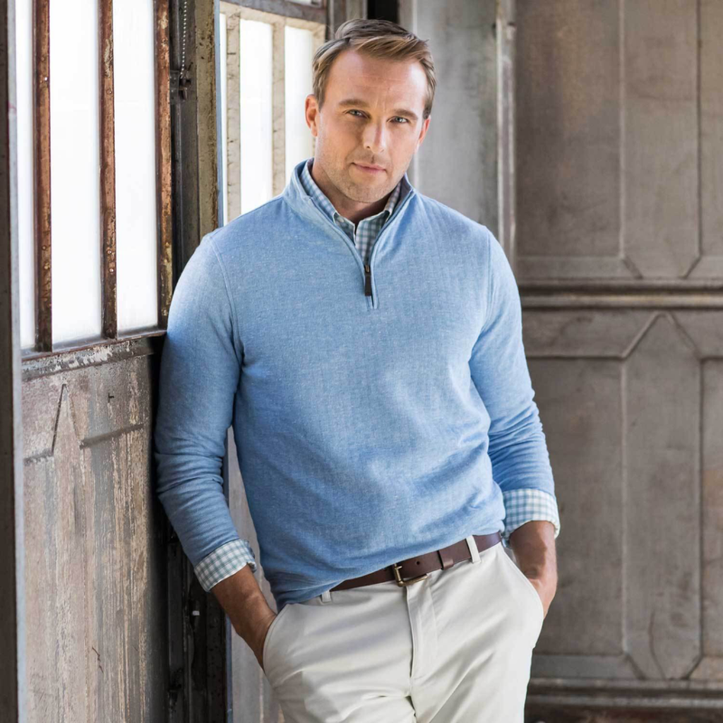 Oxford Clothing Co. Oxford Co. Crawford 1/4 Zip Pullover