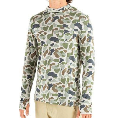 Free Fly Apparel Free Fly Bamboo Lightweight L/S Hoody (Camo)