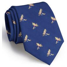 Bird Dog Bay Bird Dog Royal Wulff Necktie (Navy)