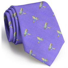 Bird Dog Bay Bird Dog Royal Wulff Necktie (Purple)