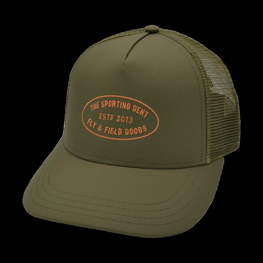 The Sporting Gent TSG Mercantile Hat (Olive Trucker)