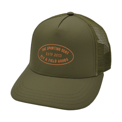The Sporting Gent TSG Mercantile Hat (Olive Trucker)