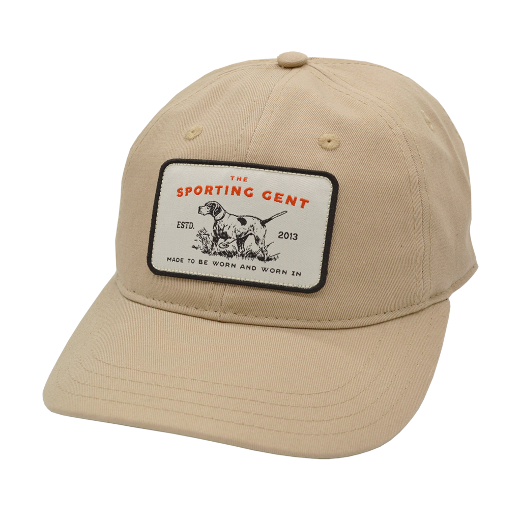 The Sporting Gent Pointer Patch Hat (Tan)