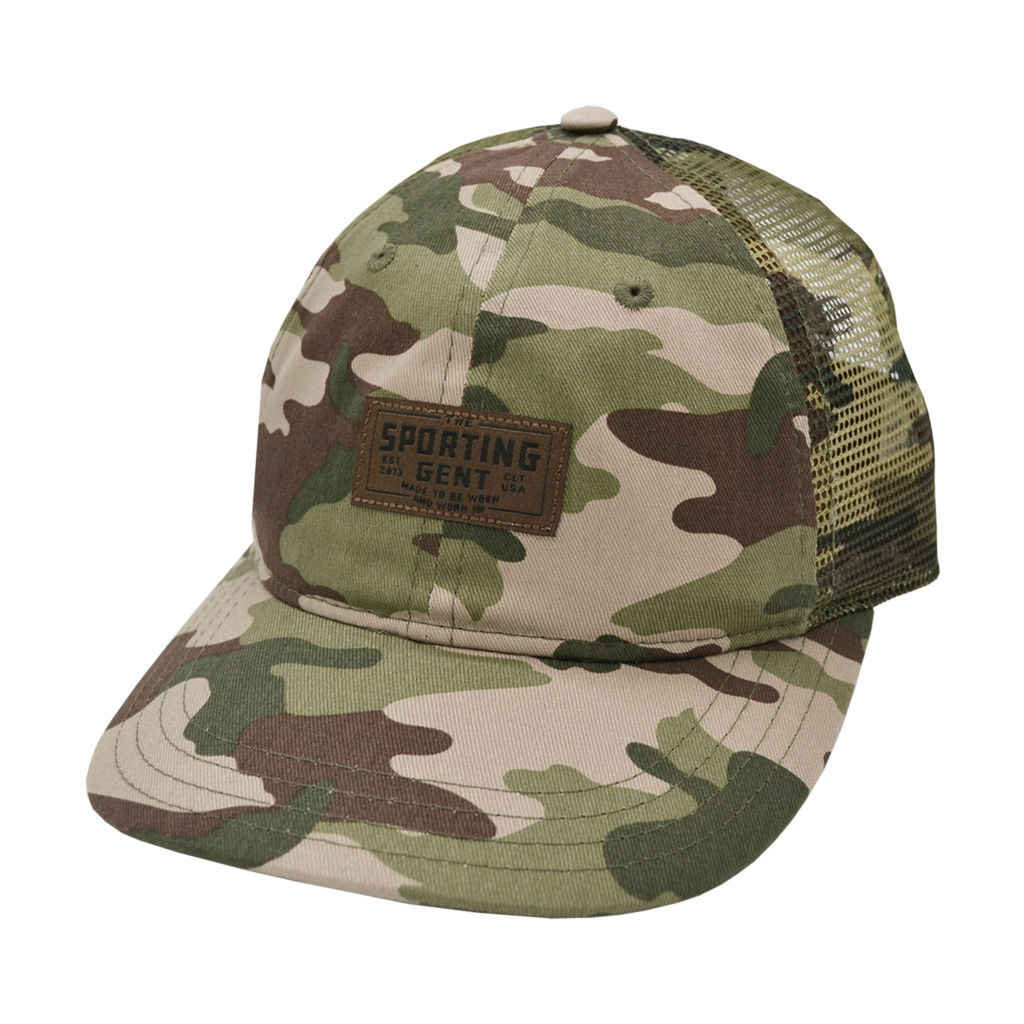 The Sporting Gent Traditions Patch Hat (Camo)