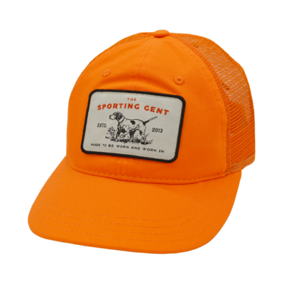 The Sporting Gent Pointer Patch Hat (Blaze Trucker)