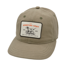 The Sporting Gent Pointer Patch Hat (Olive)
