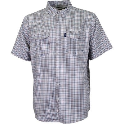 AFTCO AFTCO Intersection Long Sleeve Button Down Slate Blue L