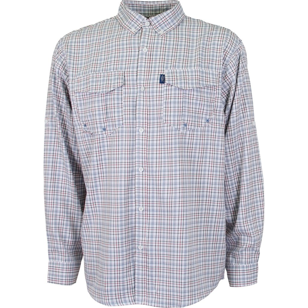 AFTCO AFTCO Intersection Long Sleeve Button Down