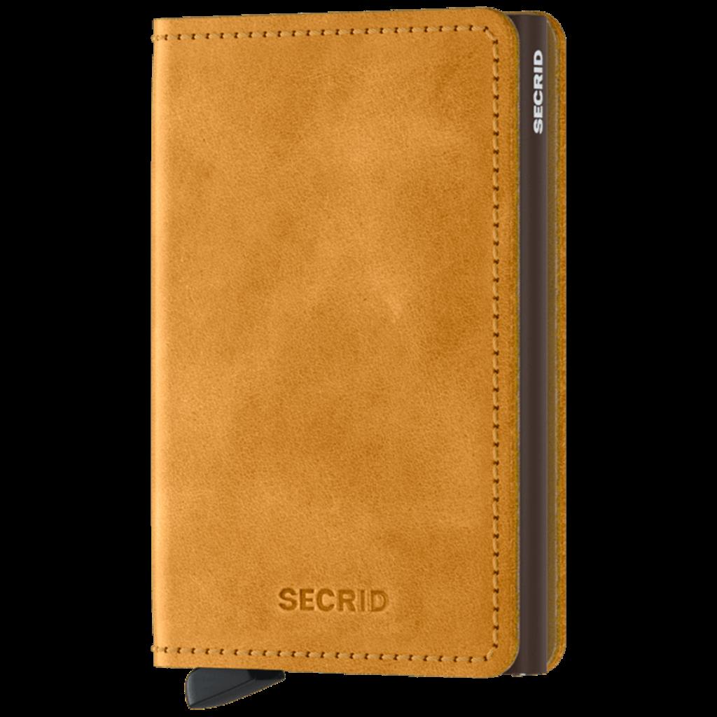 Secrid Secrid Slimwallet (Vintage Ochre)