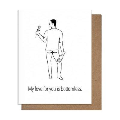 Pretty Alright Goods Pretty Alright Goods Bottomless Love Greeting Card