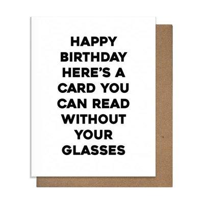 Pretty Alright Goods Pretty Alright Goods Glasses Greeting Card
