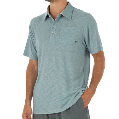 Free Fly Apparel Free Fly Apparel Bamboo Slub Polo