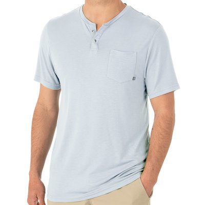 Free Fly Apparel Free Fly Slacktide Short Sleeve Henley