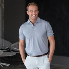 Oxford Clothing Co. Oxford Co. Dillon Stripe Polo