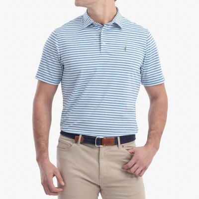 johnnie-O Johnnie-O Smith Striped Jersey Polo