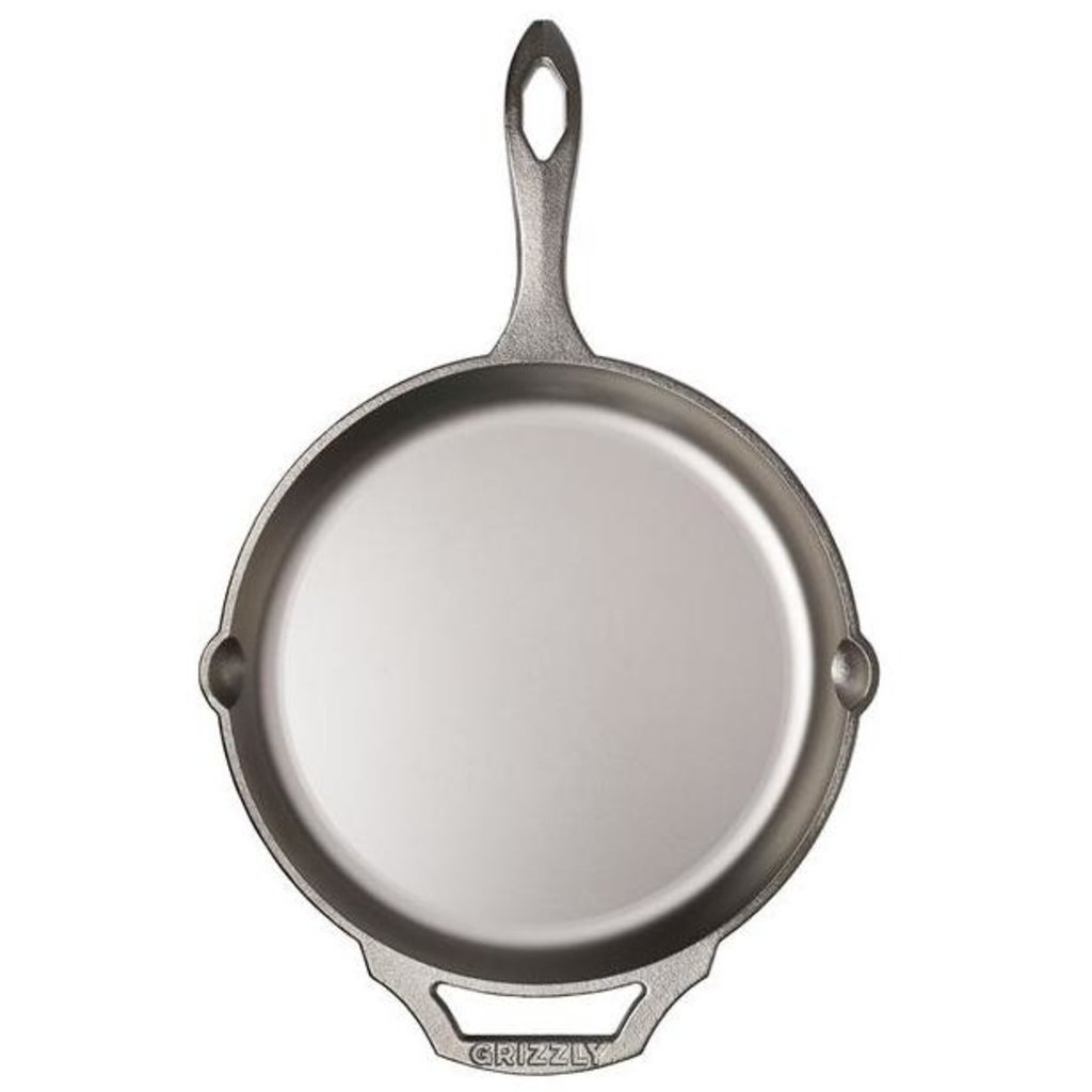 """Grizzly Cookware Grizzly Cookware 10"""" Cast Iron Skillet"""