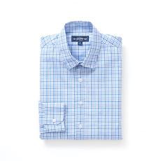 The Sporting Gent TSG Button Down Shirt - Steel Blue & Royal