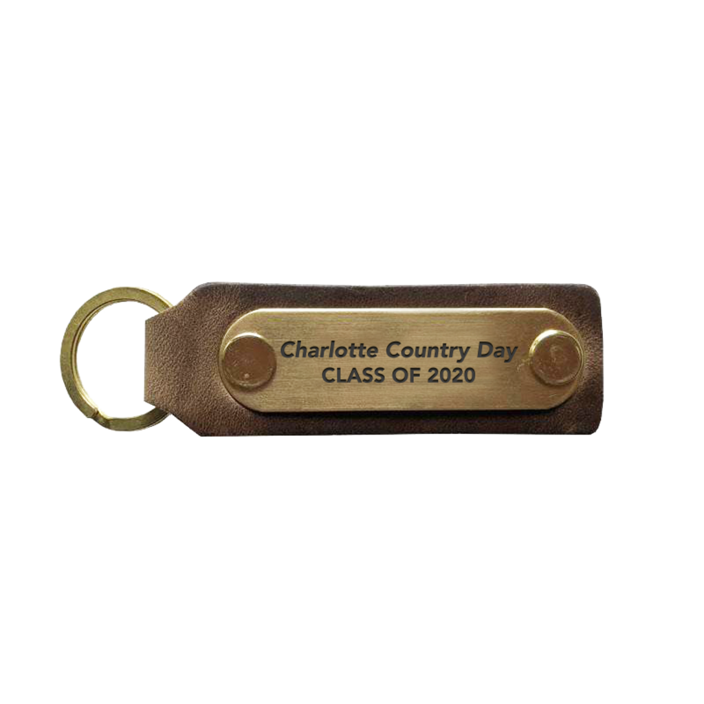 The Sporting Gent Charlotte Country Day Grad Key Fob