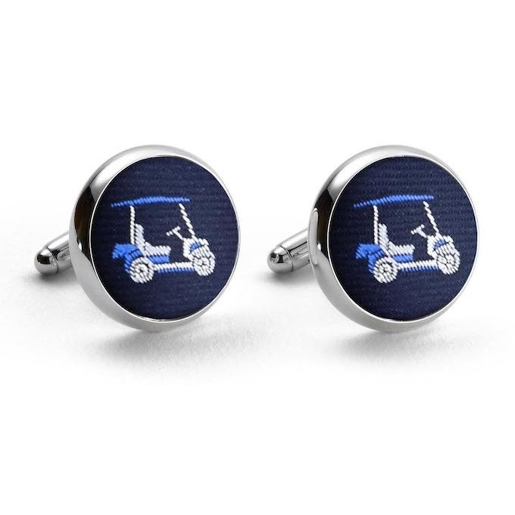 Bird Dog Bay Bird Dog Bay Golf Cart Cufflinks (Navy)