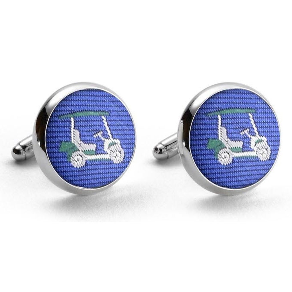 Bird Dog Bay Bird Dog Bay Golf Cart Cufflinks (Blue)