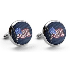 Bird Dog Bay Bird Dog Bay Old Glory Cufflinks (Navy)