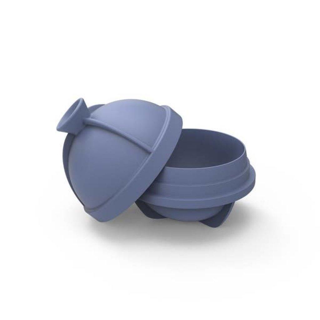 W&P Design W&P Peak Single Sphere Ice Mold (Blue)
