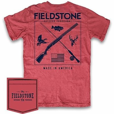Fieldstone Outdoor Provisions Co. Fieldstone Hunting & Fishing Short Sleeve Tee