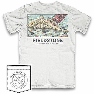 Fieldstone Outdoor Provisions Co. Fieldstone Red Fish Short Sleeve Tee