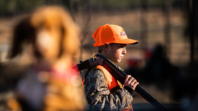 Front Porch Musings: Take Your Boy Hunting