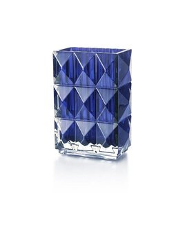 Baccarat Louxor Vase Blue