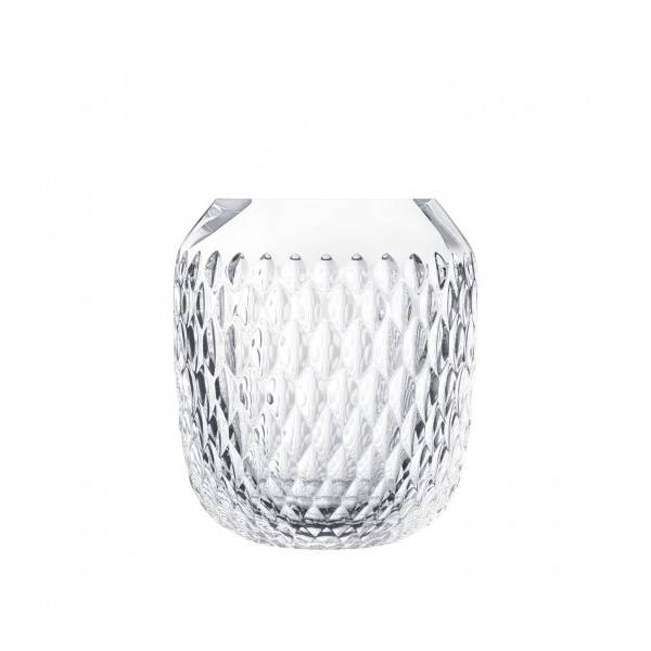Saint-Louis Folia Small clear vase