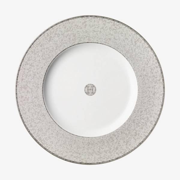 Hermes Mosaique au 24 Platinum Presentation plate