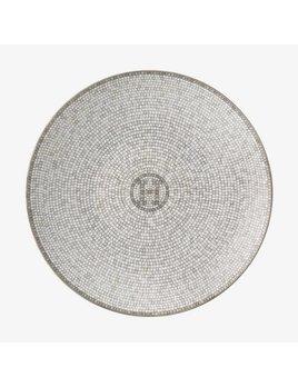 Hermes Mosaique au 24 Platinum Bread & Butter Plate