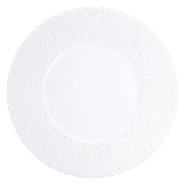 Bernardaud Ecume White Salad Plate 8.5 In