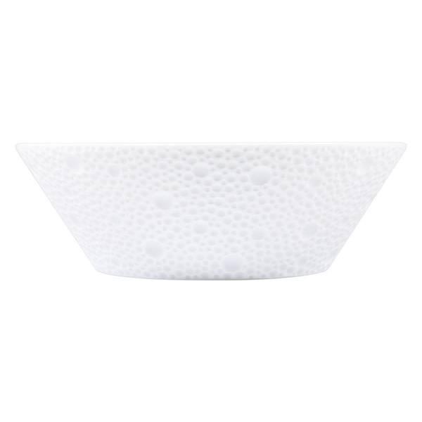 Bernardaud Ecume White Candy Dish