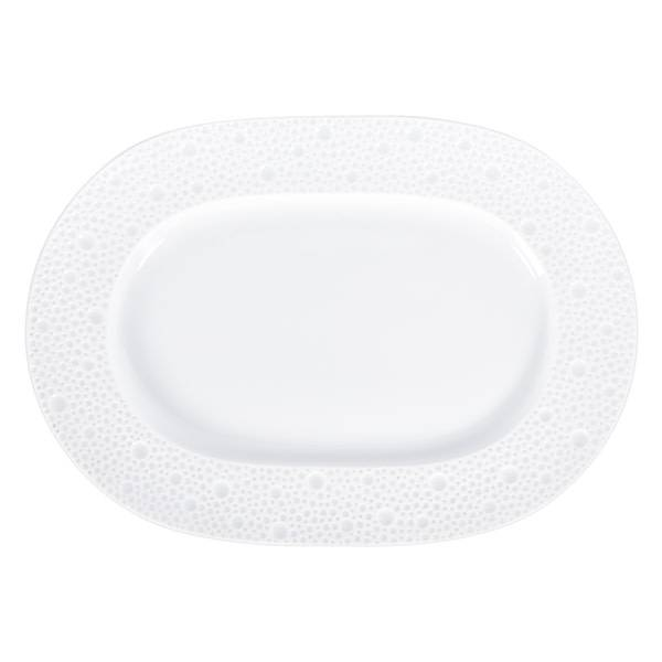 Bernardaud Ecume White Relish Dish