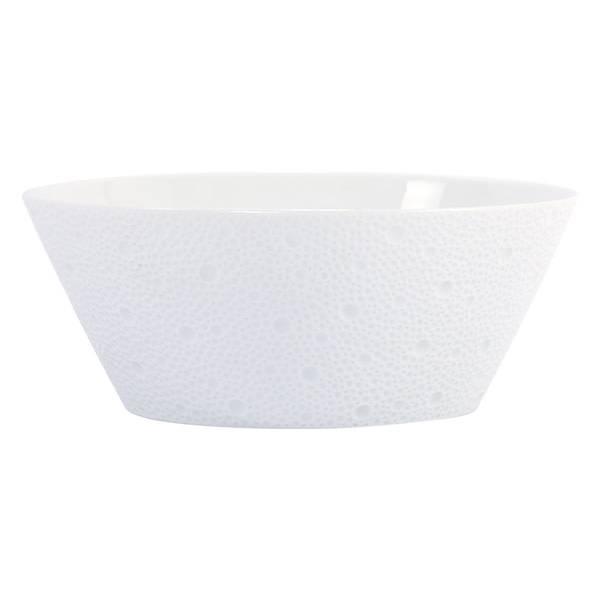 Bernardaud Ecume White Salad Bowl 8 In