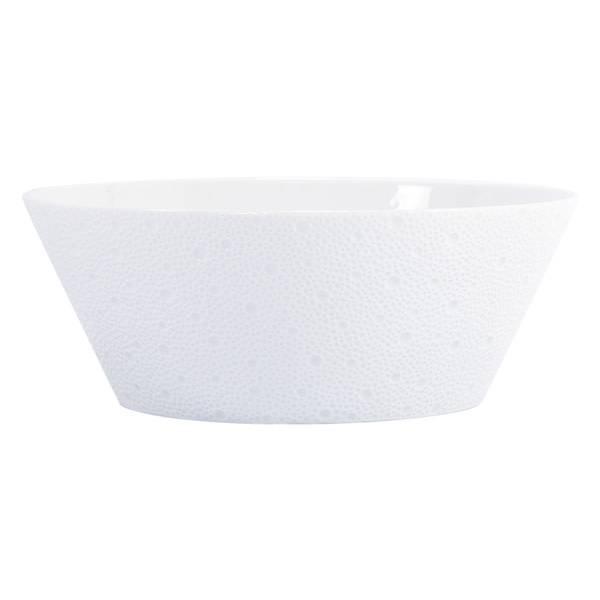 Bernardaud Ecume White Salad Bowl 9.5 In
