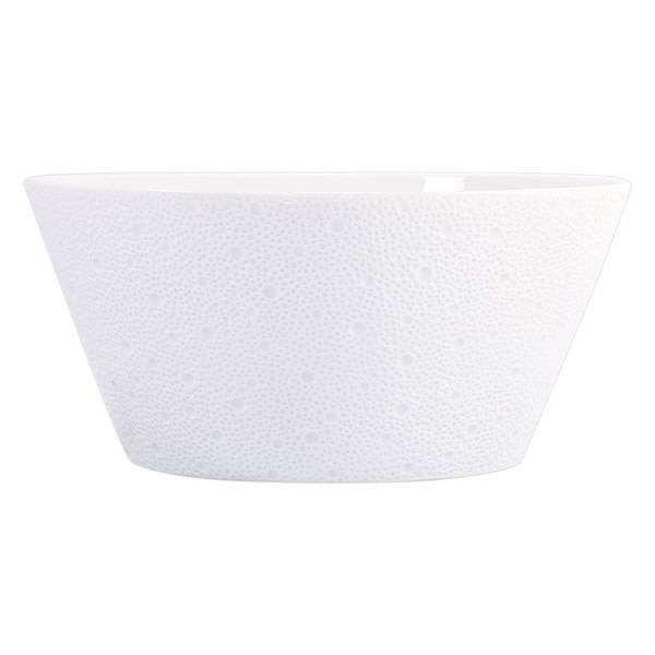 Bernardaud Ecume White Salad Bowl 11 In