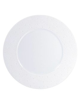 Bernardaud Ecume White Service Plate 11.6 In