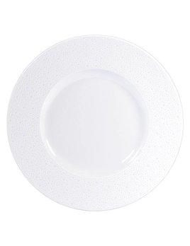 Bernardaud Ecume White Service Plate 12.4 In
